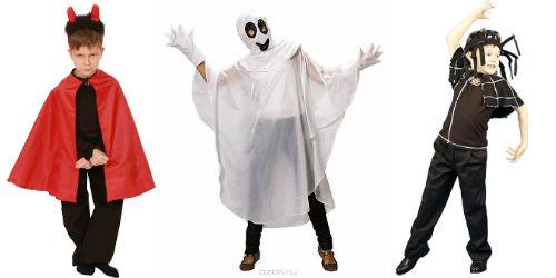 костюмы на Хэллоуин для мальчиков