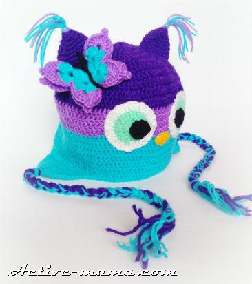 шапка-сова фото