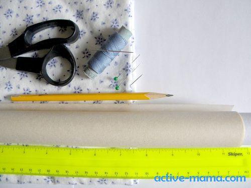 материалы для пошива распашонки