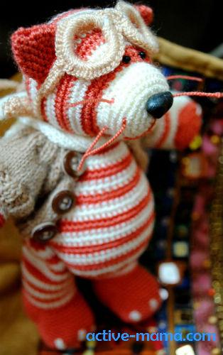 вязаные игрушки Любови Бугаевой