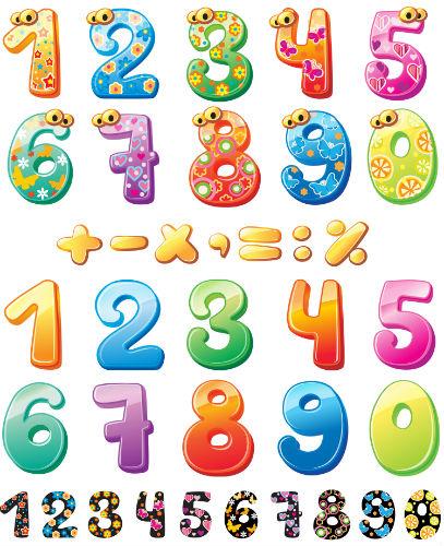 цифры для детей
