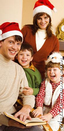 встреча Нового года с детьми