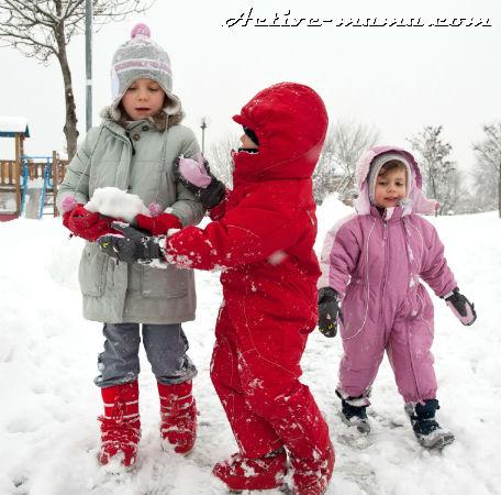 Сколько гулять с ребенком зимой?