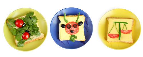 детские бутерброды на день рождения