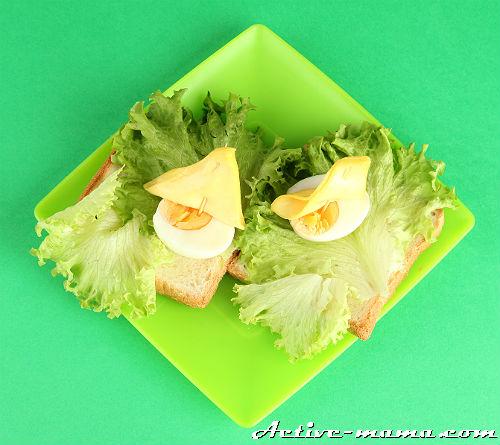 детские бутерброды фото