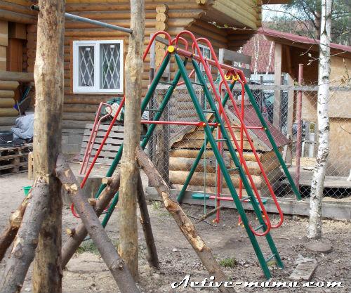 качели для детской площадки на даче