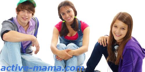 Взросление подростков