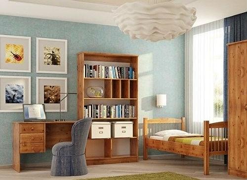 Детская мебель из натурального дерева