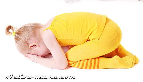 Шишка на голове у ребенка