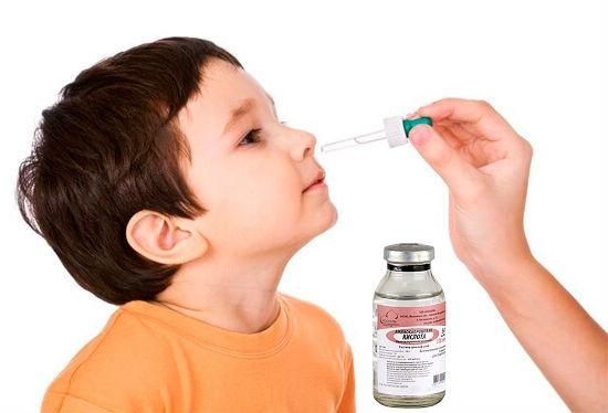 Аминокапроновая кислота в нос детям при насморке