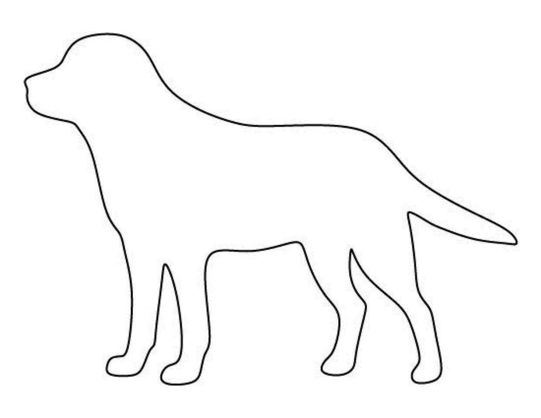 процессе поиска картинка собаки для вырезания из бумаги первого еще доехали