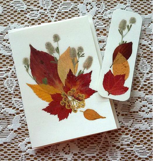 услугам сухие листья для открыток приготовлении