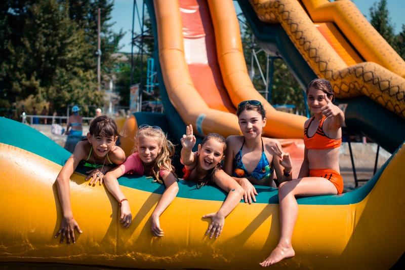 Детский летний лагерь аквапарк